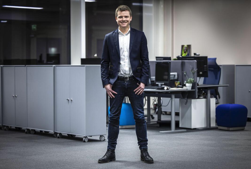 Et samlet styre står bak valget av Lars Håkon Grønning som ny ansvarlig redaktør i E24, sier styreleder Christian Haneborg.