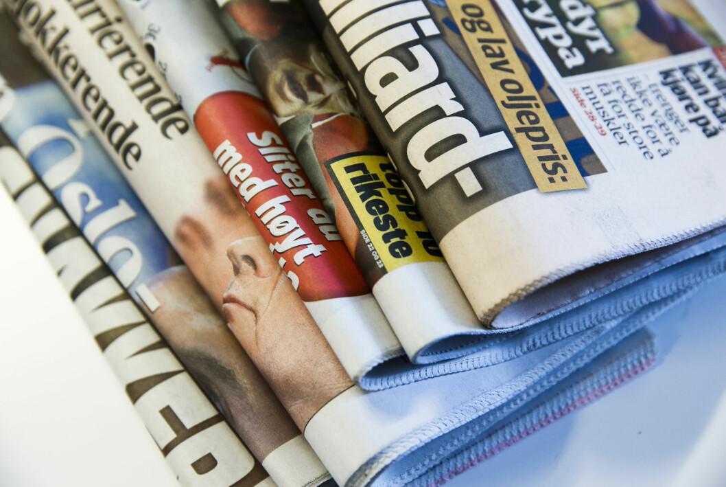 Begrepet «den samlede presse» er uten substans, mener Leif Osvold.