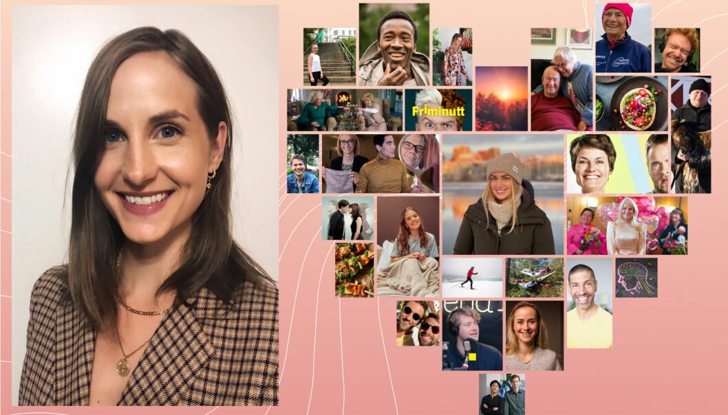 NRK er ute med NRK Lyspunkt, etter idé fra journalist Ingrid Tinmannsvik.