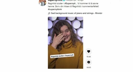Ragnhild forlater NRK – avskjedsvideoen er sett over 100.000 ganger