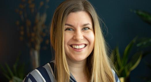 Andrea Hegdahl Tiltnes er ny debattjournalist i Adresseavisen