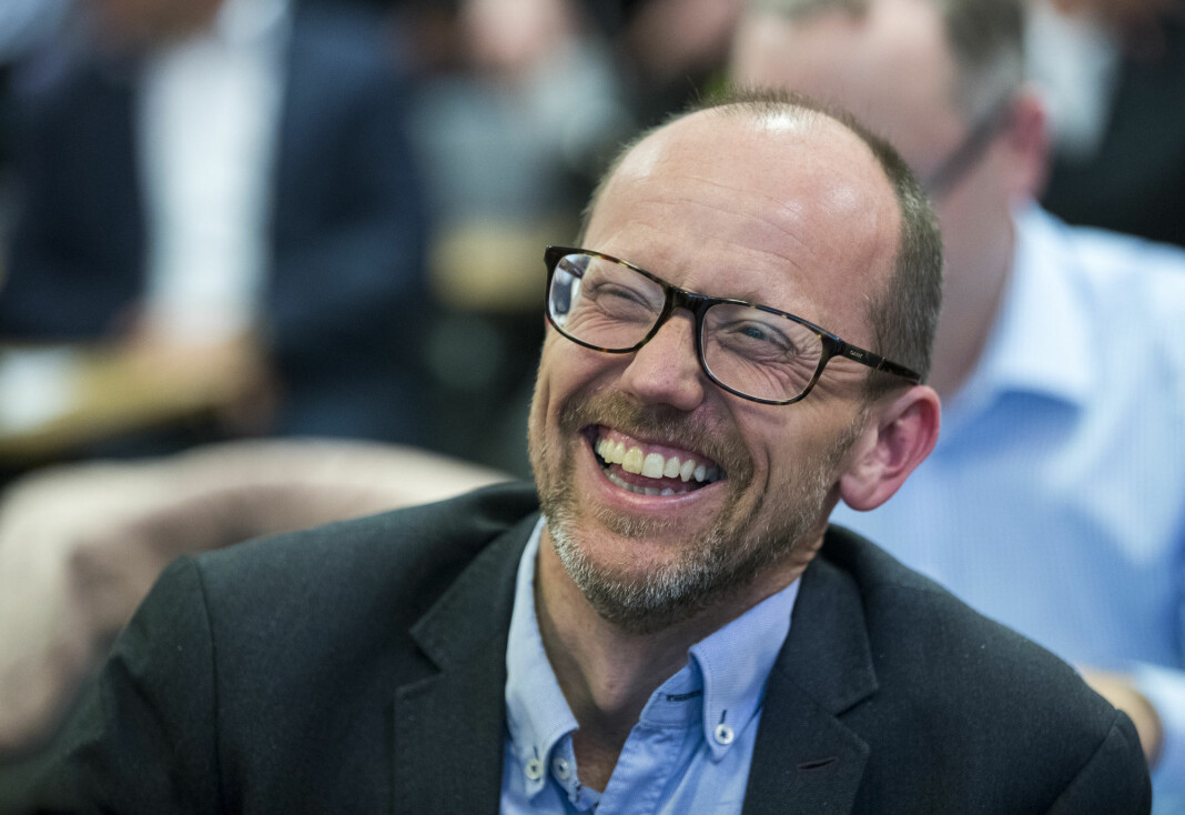 Konsernsjef Per Magne Tveiten i Mentor Medier får Polaris Media som ny eier. Det er han fornøyd med.