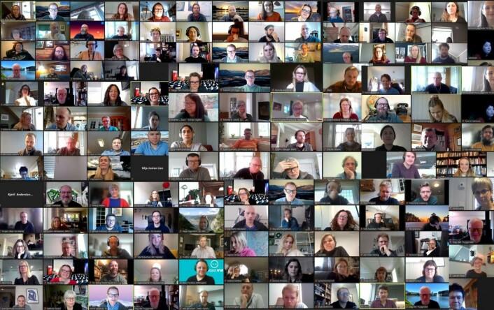 Tre dager foran skjermen: Slik blir landsmøtet for 149 NJ-delegater
