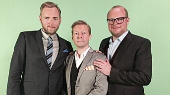 Tidligere kjent som Radioresepsjonen: Tore Sagen, Bjarte Tjøstheim og Steinar Sagen.