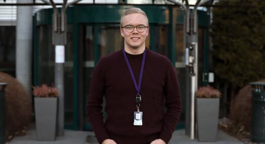 Anders ba om å få levere Dagsrevyen-saken sin på samisk. Det startet en liten språkrevolusjon i NRK