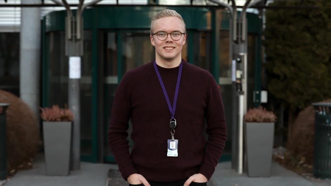 Anders Boine Verstad ser for seg å levere én til to samiskspråklige saker for NRK-sporten hver uke framover.
