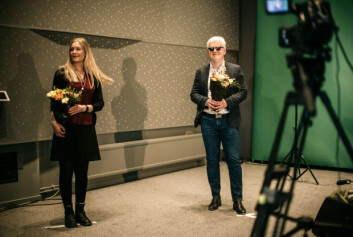 Leder og nestleder Dag Idar Tryggestad og Hege Fagerheim ble enstemmig valgt NJs digitale landsmøte.