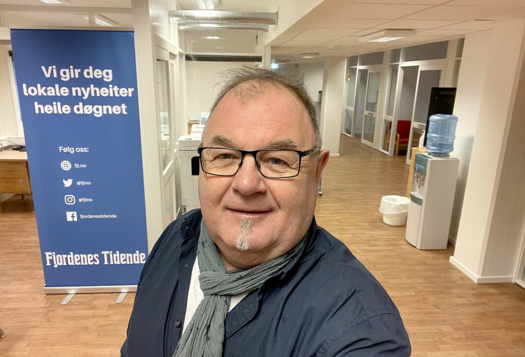 Erling Wåge har vært ansatt i Fjordenes Tidende siden 1987.