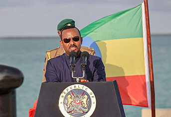 Abiy Ahmed ble valgt til Etiopias statsminister i april 2018.