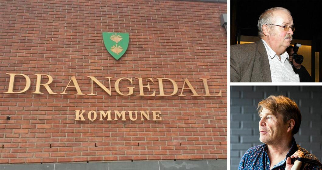 Ap-politiker Magnus Straume er kritisk til Drangedalsposten og redaktør Jan Magne Stensrud. Stensrud mener Straume mangler respekt for ytringsfriheten.