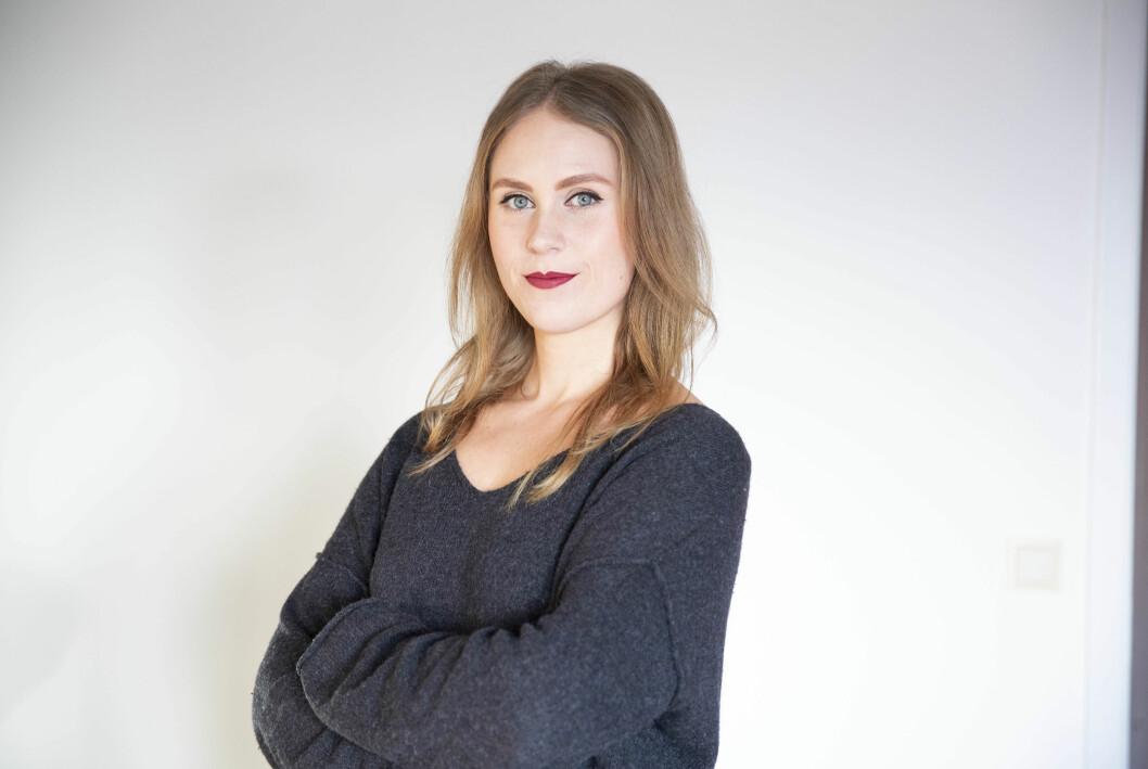Forsvarets forum mister Silje Kampesæter til NRK Innlandet.