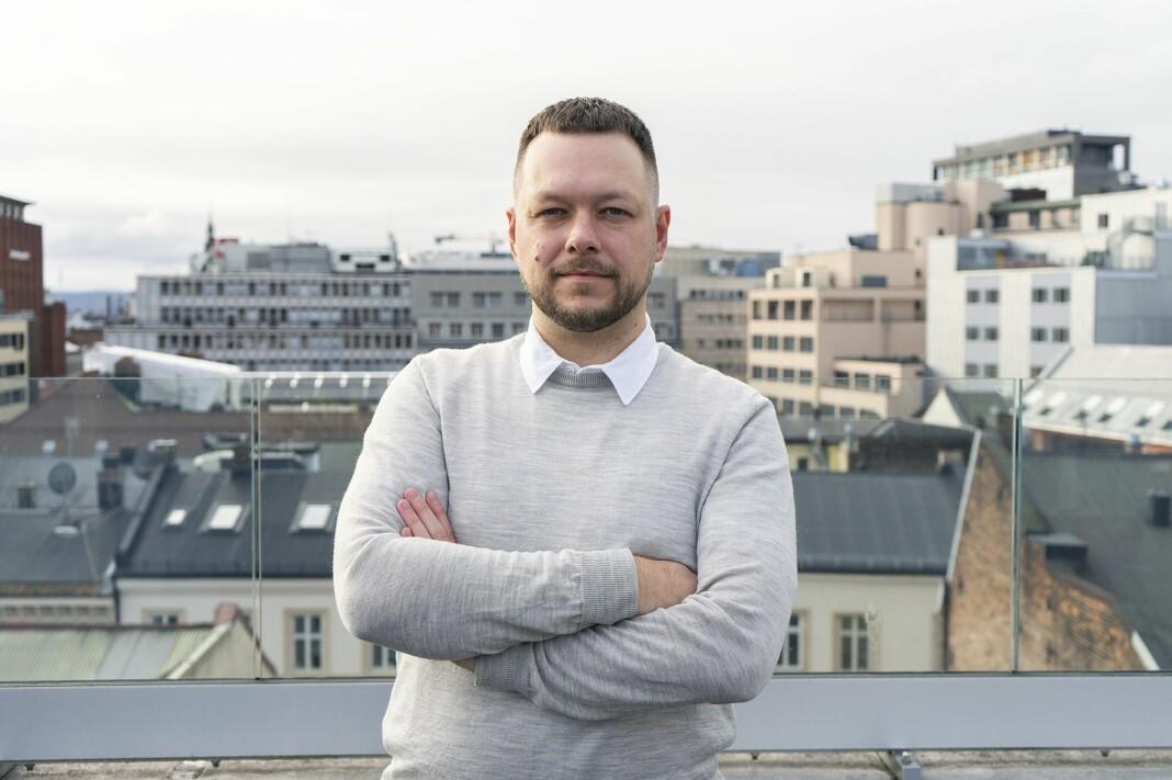 FRI-leder Inge Alexander Gjestvang stiller seg undrende til betalt publisering av innlegg.