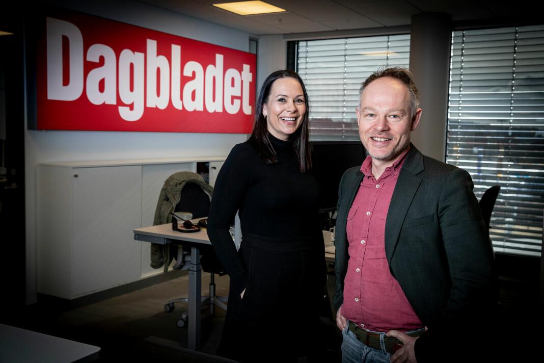 – Tanja har et av de sterkeste nyhetshodene jeg har jobbet med i min karriere, sier Bjørn Carlsen om sin kollega Tanja Wibe-Lund.