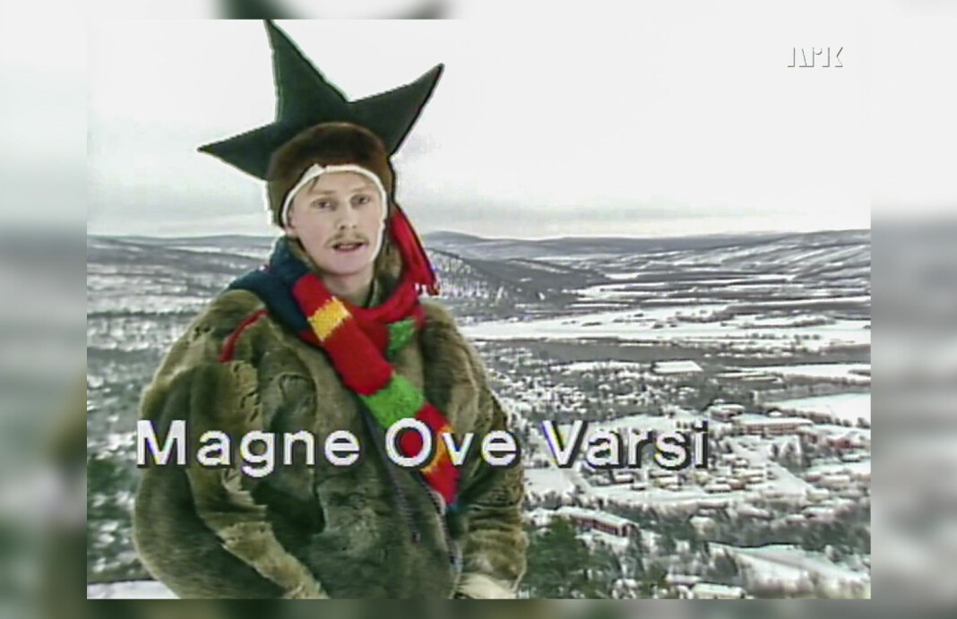 3. februar 1989 ønsket Magne Ove Varsi velkommen til Norge Rundt - på nordsamisk.
