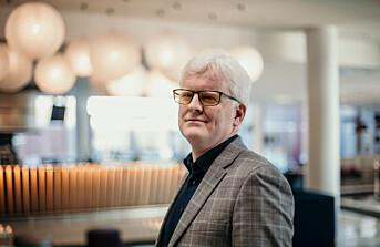 Dag Idar Tryggestad, leder i Norsk Journalistlag.