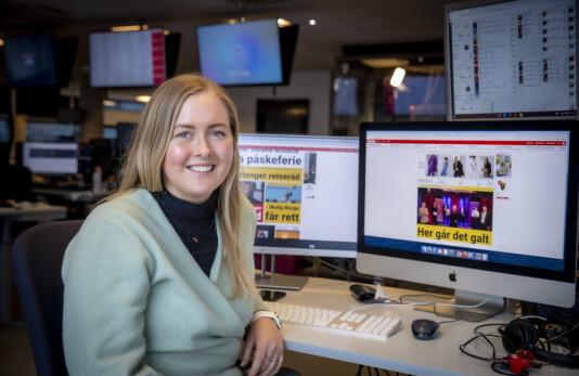 Marthe Ihle er ansatt som ny digital vaktsjef i Dagbladet