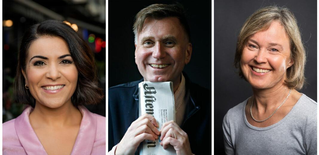 Riksmålsforbundet gir årets TV-pris til Rima Iraki, Gullpennen til Sturle Scholz Nærø og Lytterprisen til Anne Cathrine Straume.