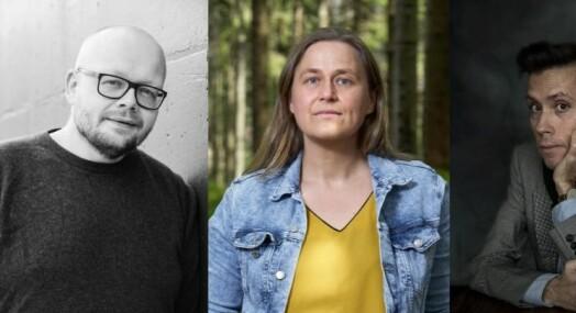 Jan Grue, Bjørn Hatterud og Olaug Nilssen får Fritt Ord-prisen