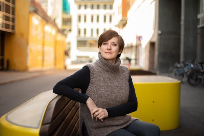 – Det er jo absolutt et varsko her til kvinner at de må bli tøffere i forhandlinger, sier Veslemøy Østrem.