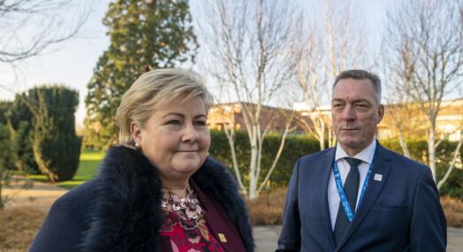 Solberg: Bakke-Jensen burde vært synlig på søkerlisten for fiskeridirektør-stillingen