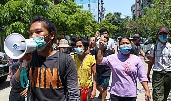 Unge slår tilbake mot juntaen i Myanmar med hemmelige nyhetsbrev