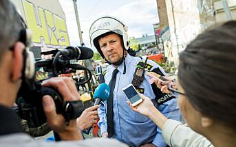 Nå starter utviklingen av infokanal mellom politiet og pressen