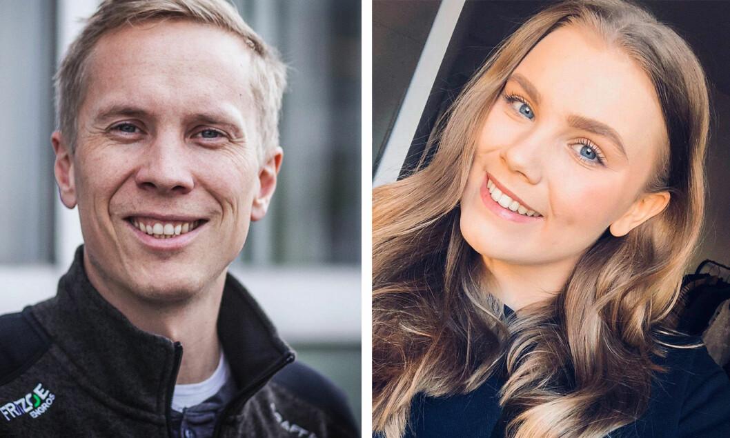 Håvard Wannebo og Linnea Jacoby Aasrum har begge fått faste jobber som journalist i Østlands-Posten.