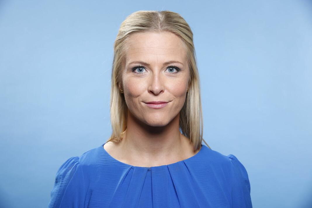Dagsrevyen-anker Eline Buvarp Aardal.