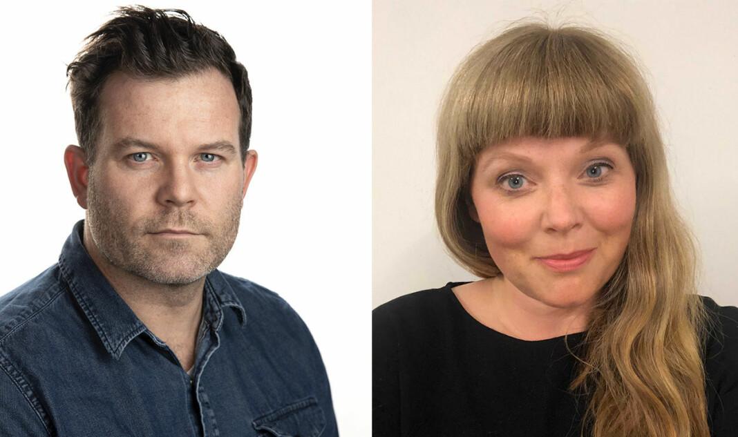Eirik Fardal og Karen R. Tjernshaugen blir nye leder i Aftenpostens nyhetsavdeling.
