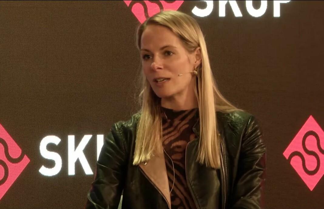 Ekstremismeforsker Cathrine Thorleifsson deltok i debatt under Skup 2021.