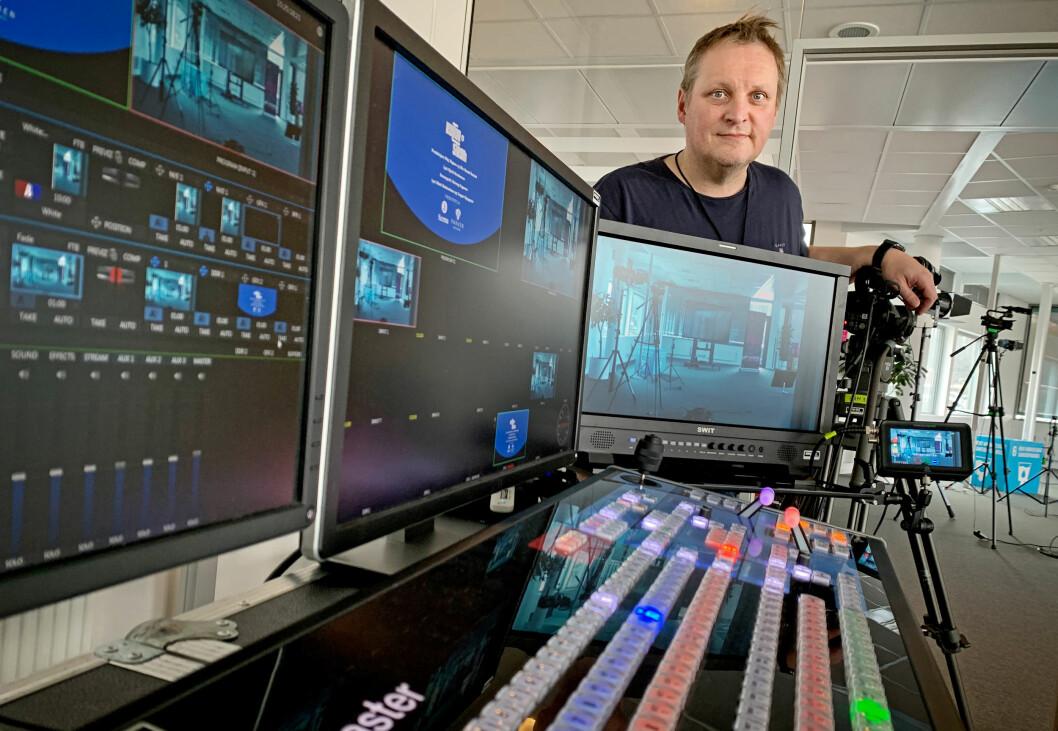 Videojournalist Stig Vågnes skal han stå i spissen for å bygge opp et eget kompetansesenter for direktesendinger.