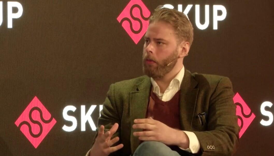 Henrik Evertsson er regissøren bak Estonia-dokumentarserien.