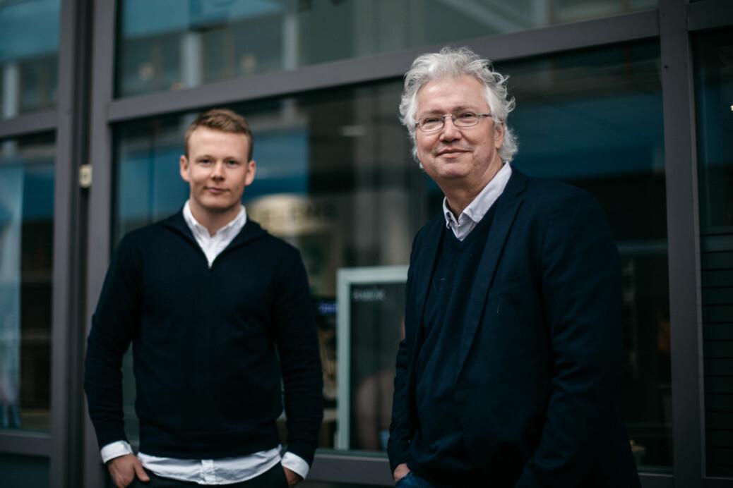Daniel Røed-Johansen og Per Anders Johansen jobbet begge i koronagruppa til Aftenposten.