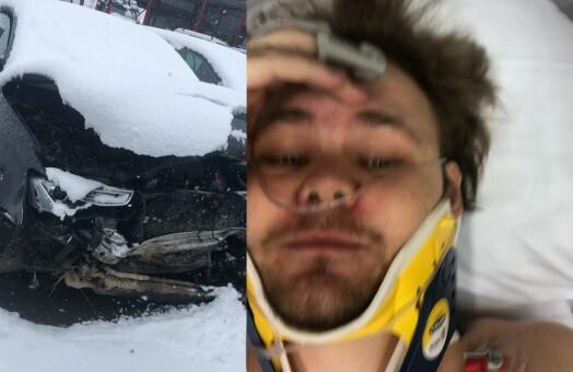 Marius reagerer på at avisa publiserte ulykkesbilde mens han var innlagt: – Til og med ukjente forsto at det var meg
