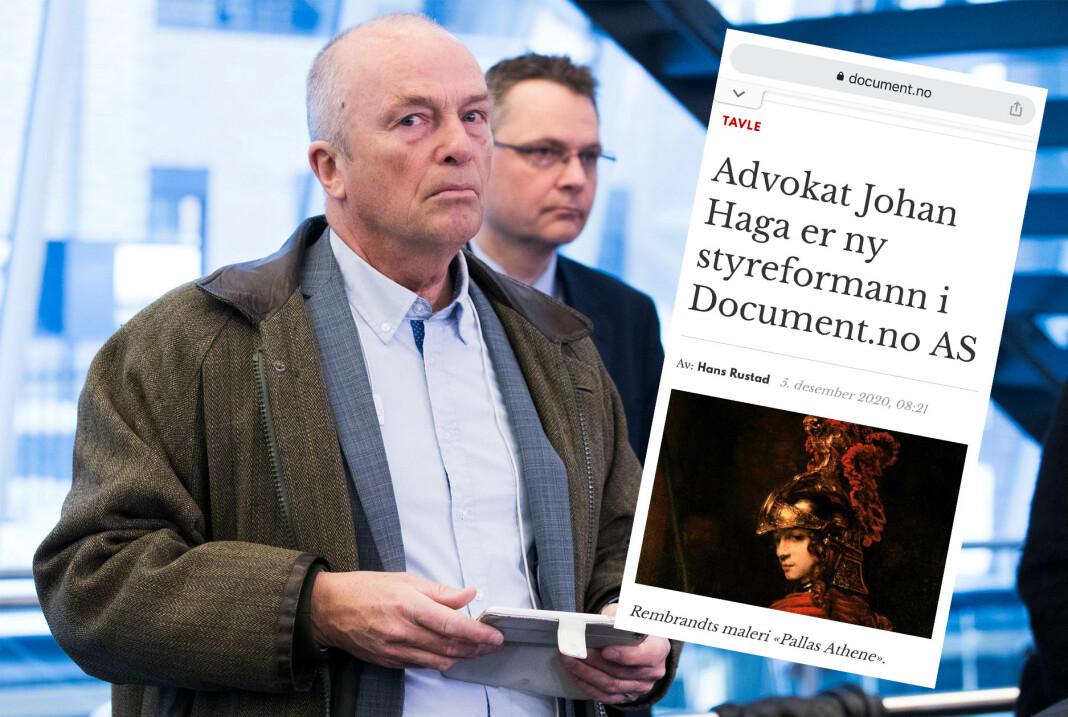 Ansvarlig redaktør Hans Rustad avviser at Document.no har brutt god presseskikk.