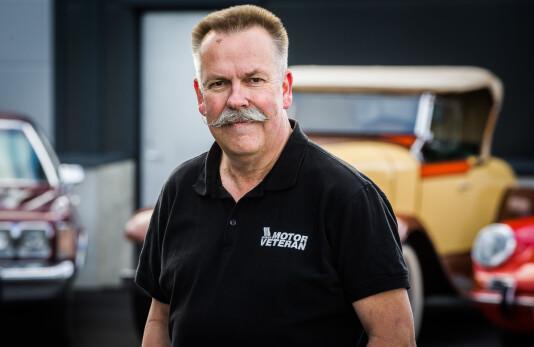 Tormod Magelssen er ny redaktør for Norges største veteranbilblad