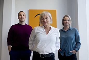 De tre programlederne: Fra venstre: Rune Christophersen, Kjersti Mjør og Anna Magnus.