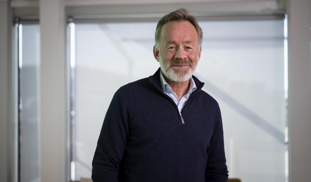 Amund Djuve, sjefsredaktør i Dagens Næringsliv, får snart nye oppgaver.