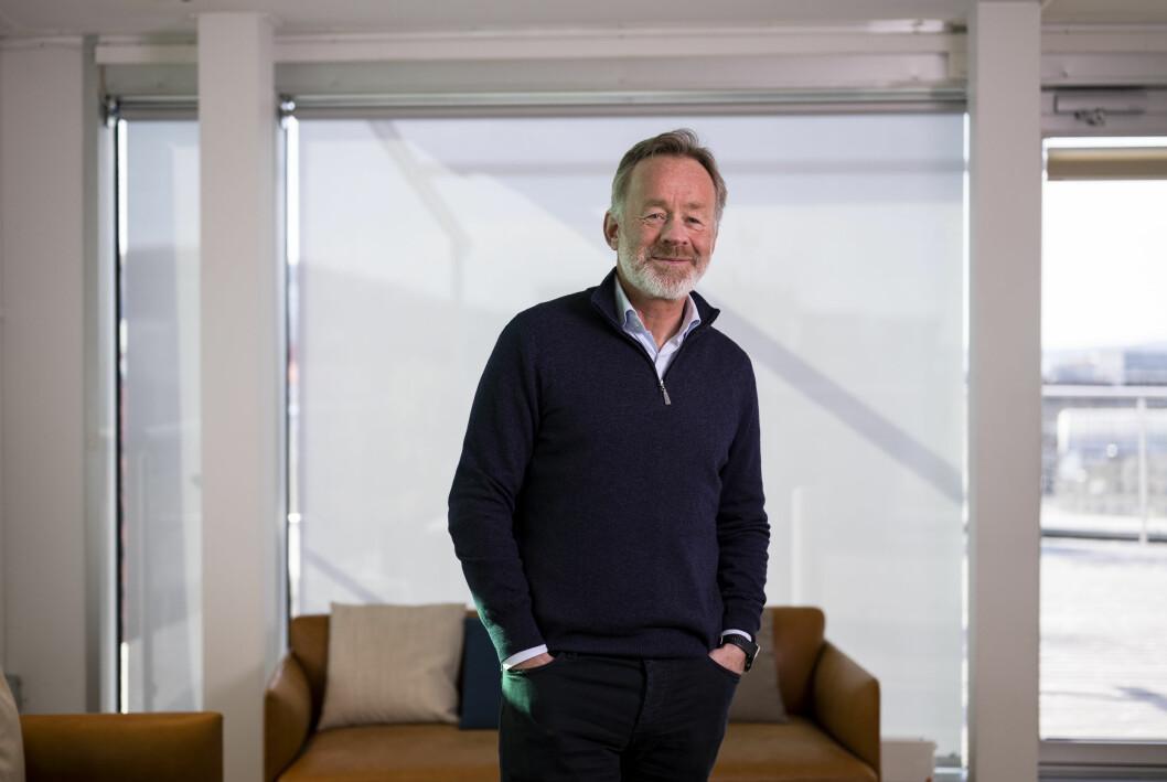Amund Djuve, sjefsredaktør i Dagens Næringsliv, mener avisen har sikret seg en god løsning.