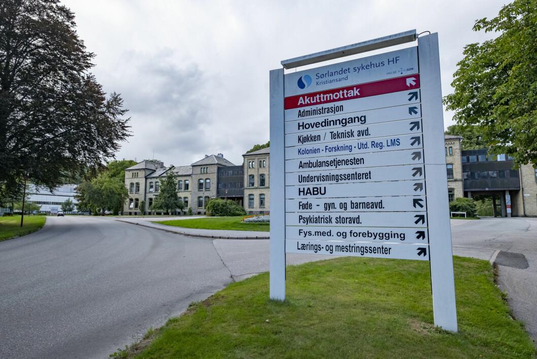 NJ Agder det er problematisk at Sørlandet sjukehus skal definere kva som er samfunnskritisk informasjon.