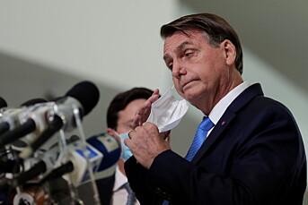 «Verre enn søppel»: Journalister kjemper mot Bolsonaros hatmaskin
