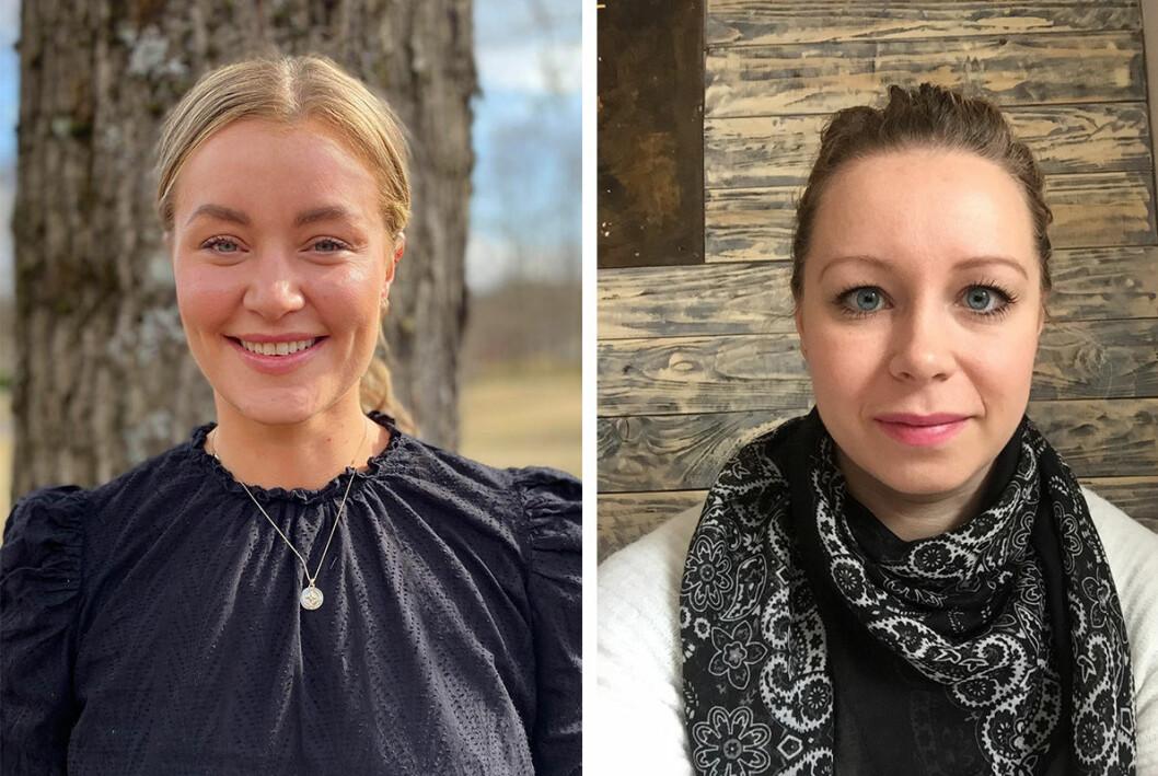 Carina Alice Bredesen og Yasmin Sunde Hoel melder overgang til VGs sportsredaksjon.