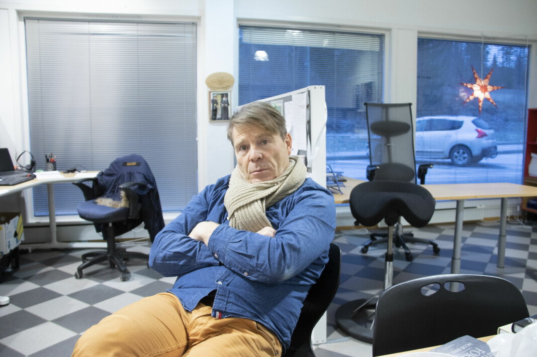 Jan Magne Stensrud ble sagt opp som redaktør i Drangedalsposten på dagen.