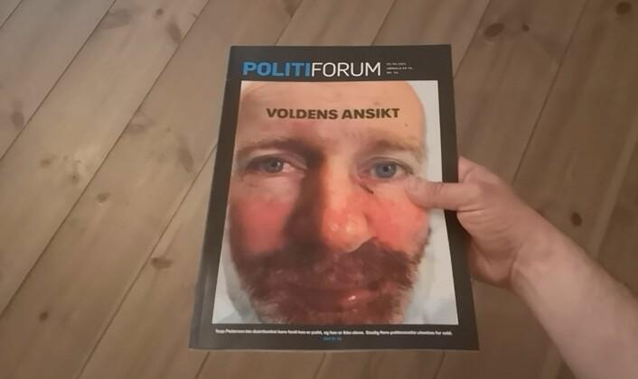 Nytt stunt:– Så vidt vi vet første norske magasinforside med lentikulært trykk