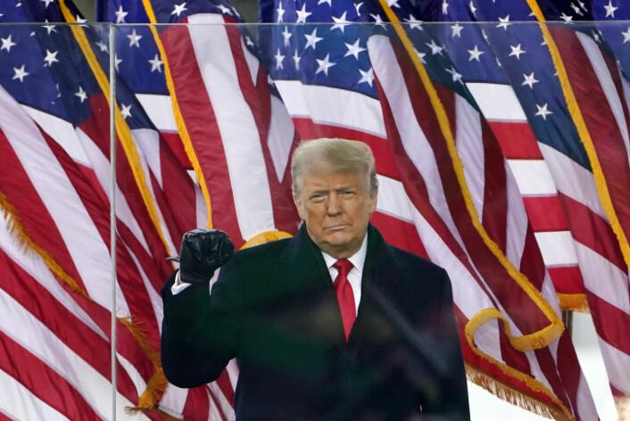 Lanserer ny plattform: «Fra skrivebordet til Donald J. Trump»