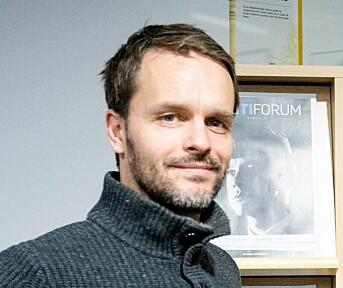 Erik Inderhaug, redaktør Politiforum.