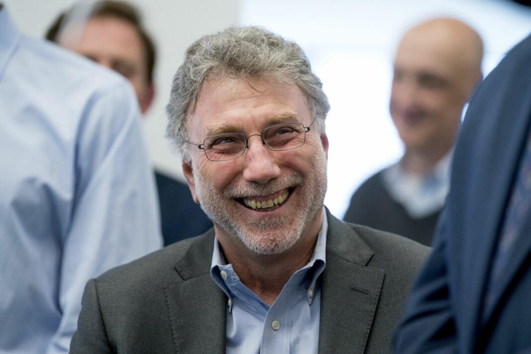 Marty Baron deltok under Nordiske Mediedager.