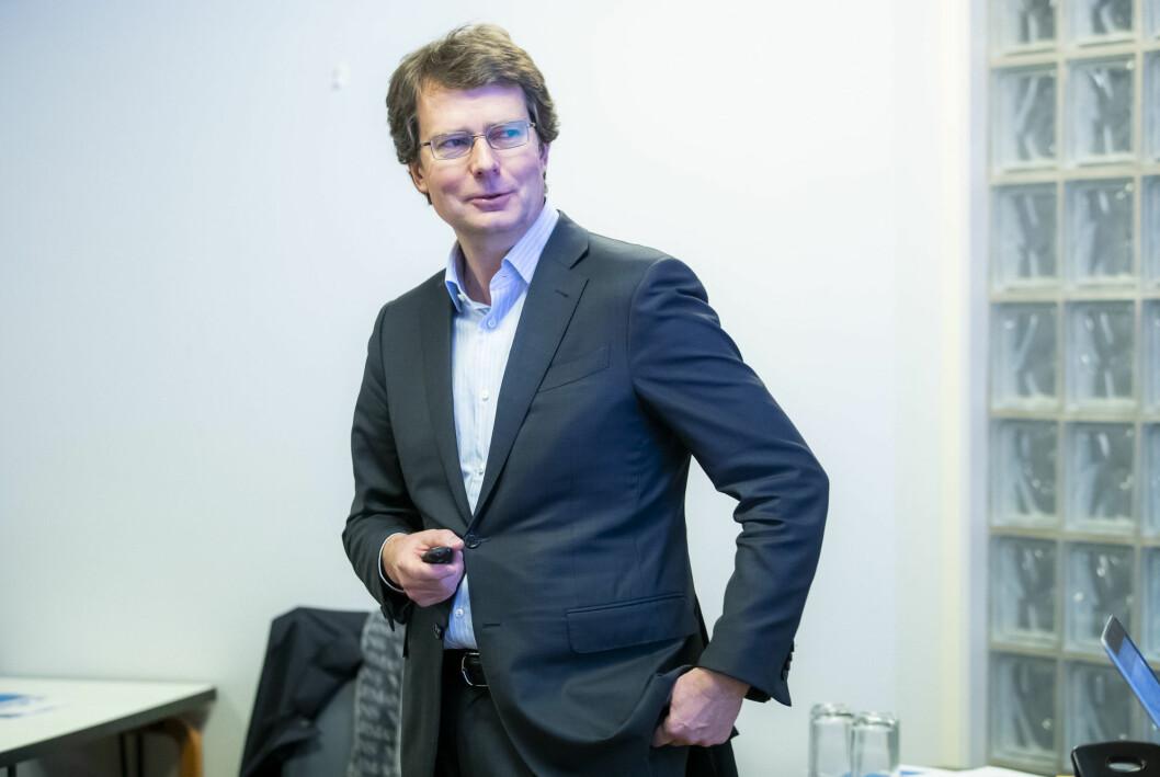 Konsernsjef Per Axel Koch er fornøyd med å kunne rapportere resultatvekst i første kvartal 2021 sammenlignet med samme kvartal i fjor.