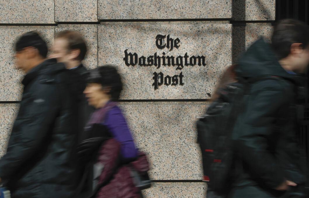 USAs justisdepartement tok beslag i tre journalisters telefonhistorikk for å finne kildene til artikler de skrev i Washington Post.
