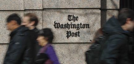 Trump-administrasjonen tok beslag i Washington Post- journalisters telefonhistorikk